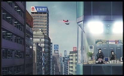 Capture d'écran du film Patlabor 2