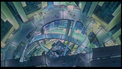 Capture d'écran du film Ghost in the Shell